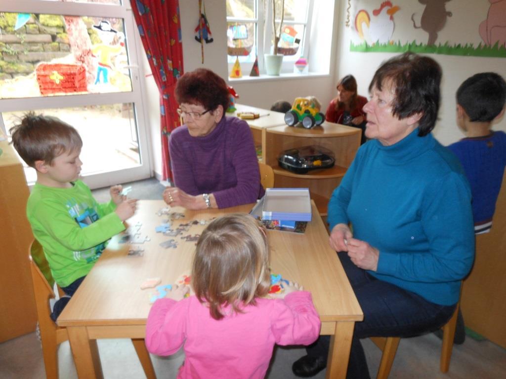 Grosselternnachmittag Im Cjd Kindergarten Flohkiste Cjd Olpe